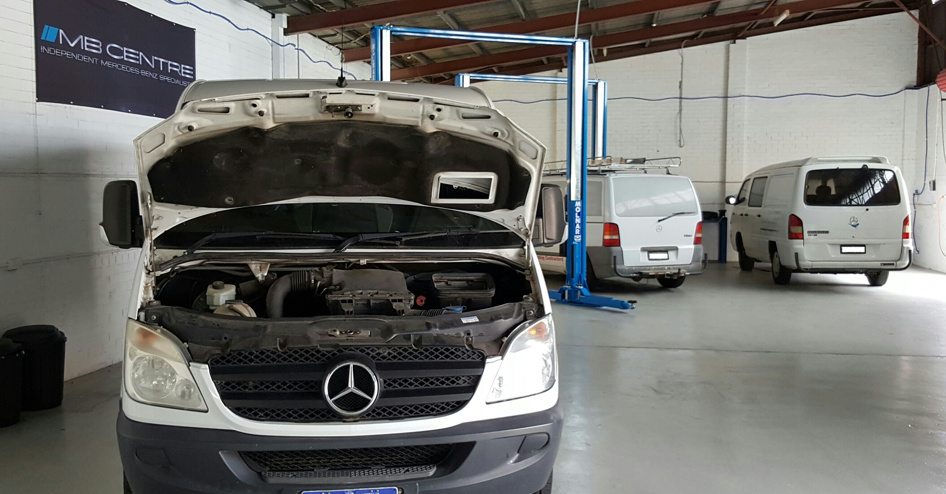 Mercedes Sprinter Service Perth